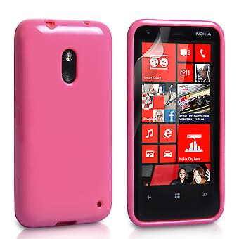 Yousave Accessories Nokia Lumia 620 Gel Case - Pink