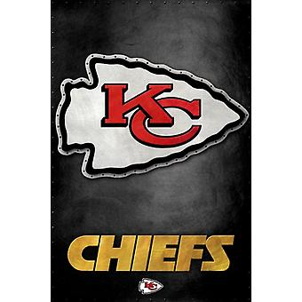 Kansas City Chiefs - Logo 13 Poster Print
