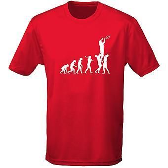 Rugby evolución Mens t-shirt 10 colores (S-3XL) por swagwear