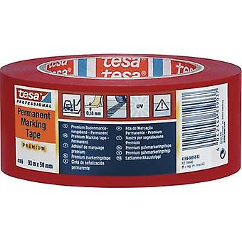 Marking tape tesa Yellow (L x W) 33 m x 50 mm Acr
