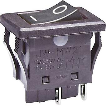 Toggle switch 250 V AC 10 A 2 x Off/On NKK Switches