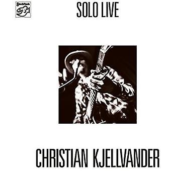 Christian Kjellvander - Solo Live [Vinyl] USA import