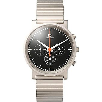 Danish design mens watch chronograph IQ63Q722 / 3314263
