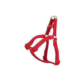Ancol Padded Nylon Dog Harness Red S 46-57cm