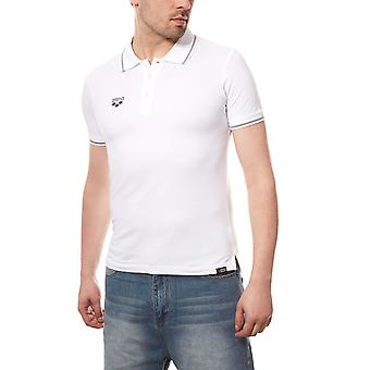 arena chassis men's polo-shirt White