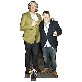 Edd China and Mike Brewer Lifesize Cardboard Cutout / Standee