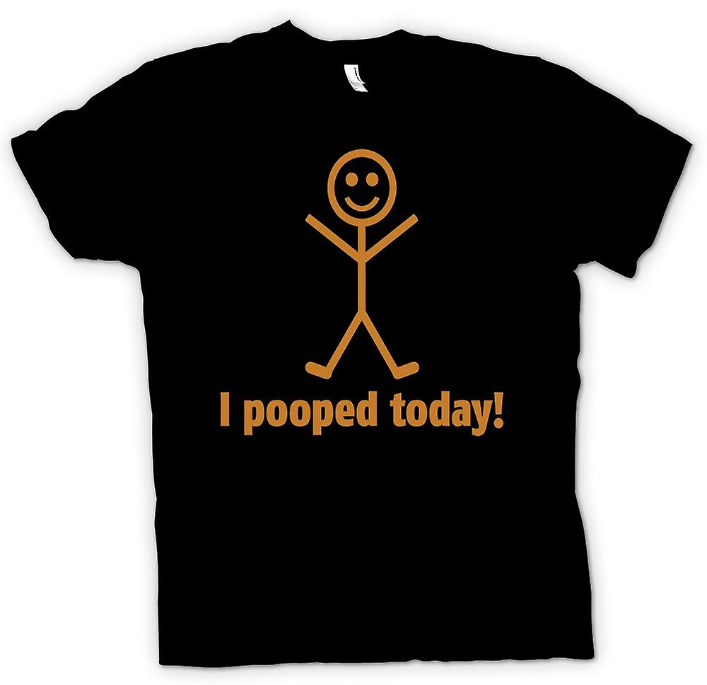 Womens T-shirt - I Pooped Today - Quote