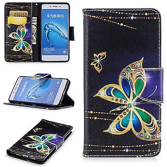 Zak portemonnee motief 25 voor Huawei honor 6C / 6S genieten van cover case pouch cover beschermhoes