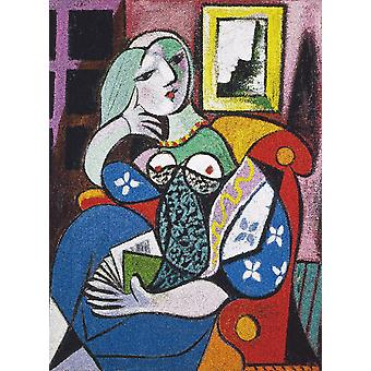 Piatnik Picasso - Woman with a Book Jigsaw Puzzle (1000 Pieces)