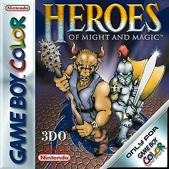 Heroes of Might and Magic GBC Game (Game Boy Color)