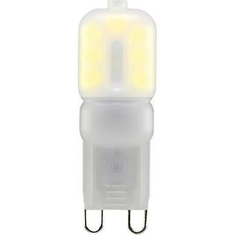 Sygonix LED EEC A+ (A++ - E) G9 Pen 2.5 W = 20 W Warm white (Ø x L) 16 mm x 48 mm 1 pc(s)