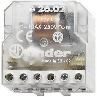 Finder 26.02.8.024.0000 10A Step Relay 26.02.8.024.0000 24 V AC DPST-NO 10 A Max(AC1) 2500 VA/(AC15, 230