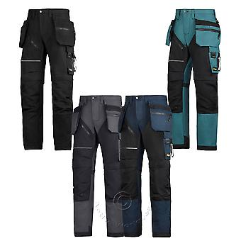 Snickers RuffWork, HD Work Trousers with Knee Pad & Holster Pockets – 6202