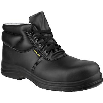 Amblers Safety Mens FS663 ESD Waterproof Safety Boots Black