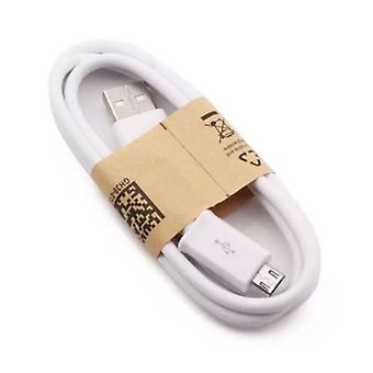 Stuff Certified ® 2-Pack USB 2.0 - Micro-USB Charging Cable Charger Data Cable 1 Meter Data Android White