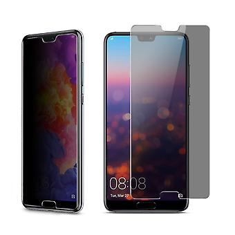 Huawei P20 look protective tank protection glass anti-spy film 9 H - 10 pieces