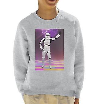 Original Stormtrooper Saturday Night Fever Kid's Sweatshirt