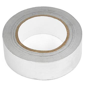 TRIXES 40mm X 50m Aluminium Foil Insulation Tape Heat Reflecting Adhesive