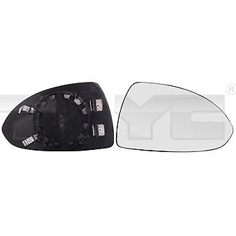 Right Mirror Glass (heated) & Holder for OPEL CORSA D 2006-2014