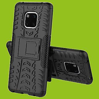 For Huawei kompis 20 Pro hybrid tilfelle 2 stykke Koczian utendørs svart veske coveret beskyttelse