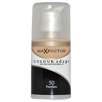 Max Factor Colour Adapt Foundation 50 Porcelain
