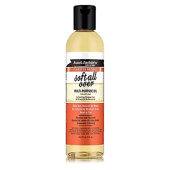 Aunt Jackie's Flaxseed Soft all over Multi-Purpose Oil 237ml