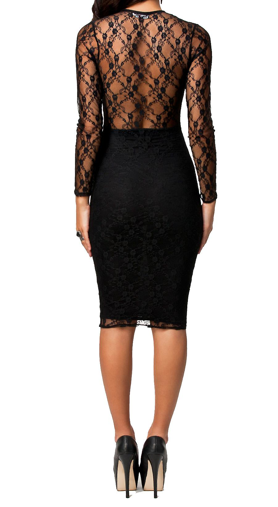 Waooh - Fashion - Dress low-cut lace