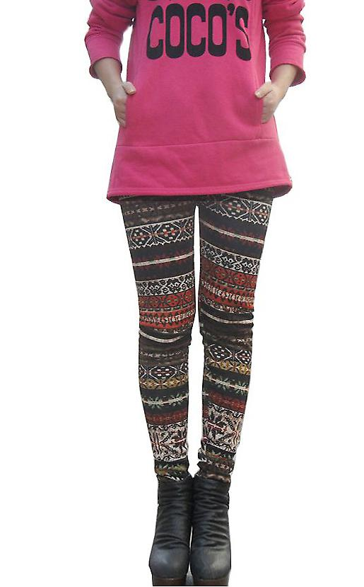 Waooh - Fashion - Leggings Pattern Pagan Winter