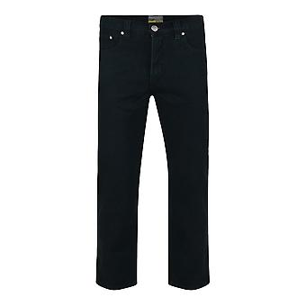 Kam Jeanswear noir Regular Fit Jeans Stretch