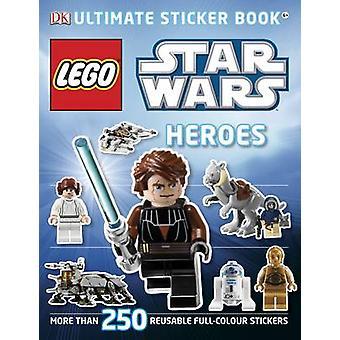 LEGO Star Wars eroi Ultimate Sticker Book di DK - 9781405364409 libro