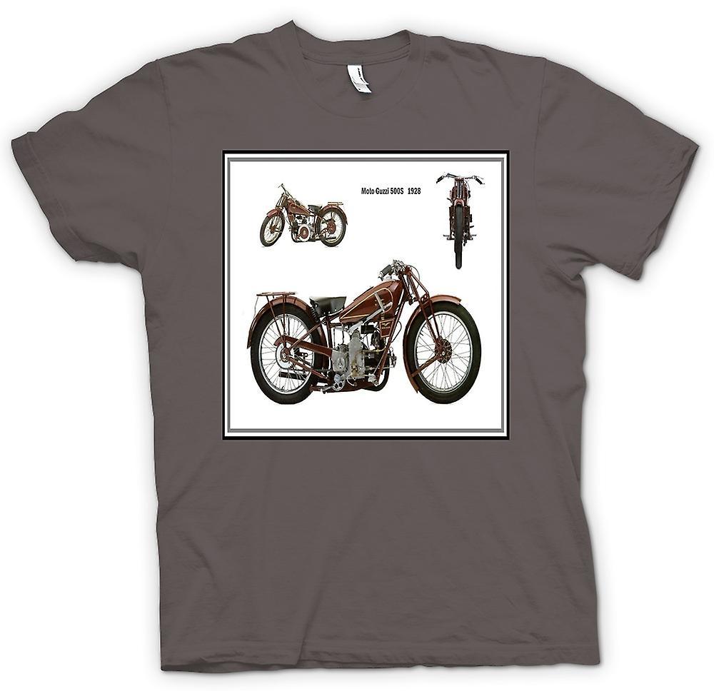 Kvinner t-skjorte-Moto Guzzi 500S 1928 klassisk sykkel