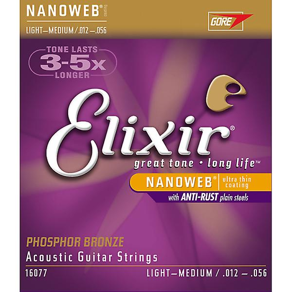 Elixir PB Nanoweb Strings Light/Medium