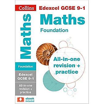 EDEXCEL GCSE Mathematik Stiftung Tier: All-in-One-Revision und Praxis (Collins GCSE Revision und Praxis - neue...