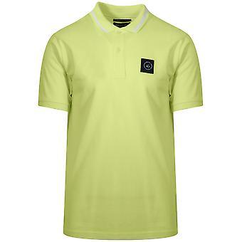 Marshall Artist Marshall Artist Lime Green Siren Polo Shirt