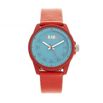 Crayo Jolt Unisex Watch - Red