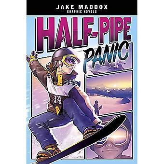 Halfpipe paniek (Jake Maddox grafische romans)