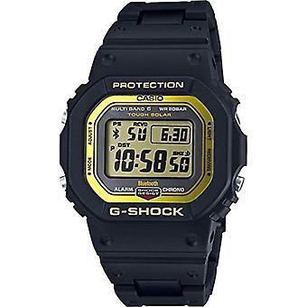Casio digital watch quartz men with black resin strap GW-B5600BC-1ER