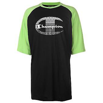 Champion Mens Raglan Sleeve T Shirt