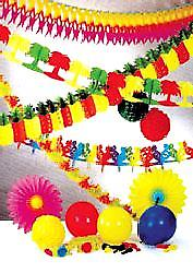 Hawaiian Decoration & Theme Pack Fantastic Value