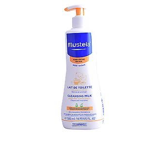 Mustela Bébé Cleansing Milk Dry Skin 500 Ml Unisex