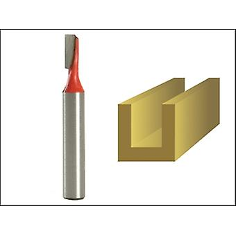 ROUTER BIT TCT SINGLE FLUTE 4.0MM X 11MM 1/4IN SHANK