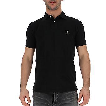 Ralph Lauren Black Cotton Poloshirt