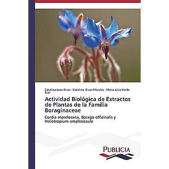 Actividad Biolgica de Extractos de Plantas de la Familia Boraginaceae by Leos Rivas Catalina