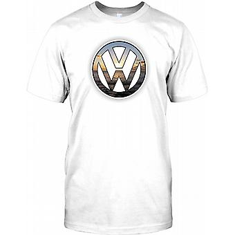 VW Sunset - Cool Volkswagen Inspired Mens T Shirt