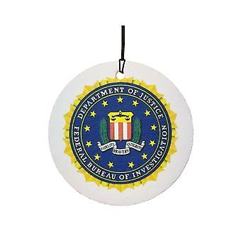 FBI Usa Seal bil Air Freshener