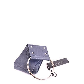 Orciani Blue Leather Belt