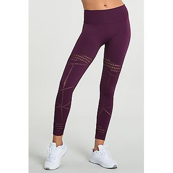 Jerf- Womens-pipa -maroon - Active Leggings
