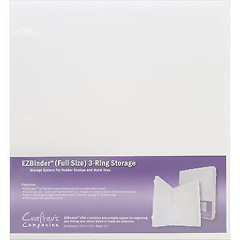 EZBinder 3-Ring Storage - Full Size-10.75