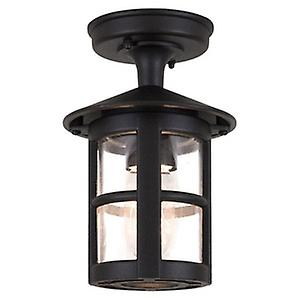 Elstead BL21/G BLACK Hereford Traditional Large Rigid Tube Exterior Wall Down Lantern