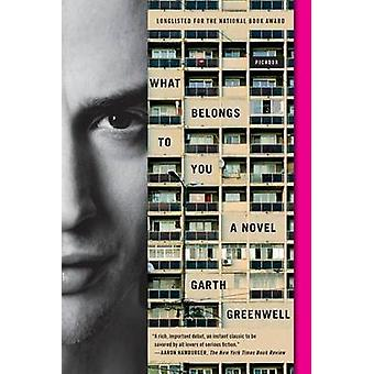 What Belongs to You by Garth Greenwell - 9781250117892 Book